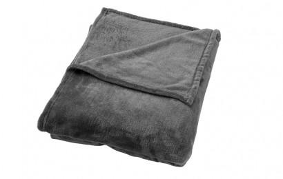 Plaid Billy 150x200 cm. Charcoal grey