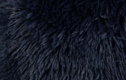 Sierkussen Fluffy Donker blauw