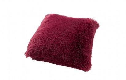 Sierkussen Fluffy 60x60 cm Red Plum