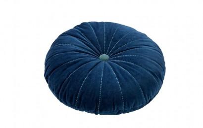 Sierkussen Maan 40 cm. Insignia blue