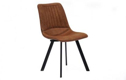 Eetkamerstoel pluto: moderne industriële stoel robbies meubelen