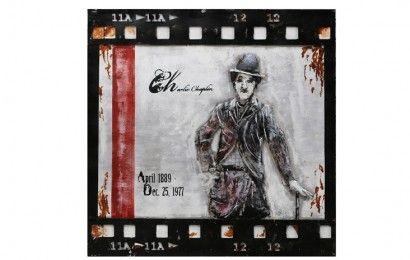 USA Sign Charlie Chaplin