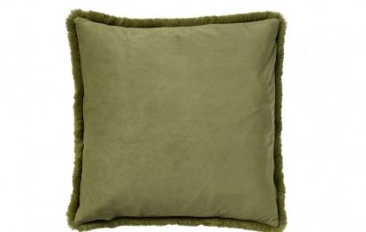 sierkussen Zaya 45x45 cm. Calliste green