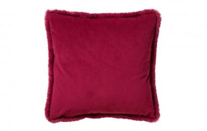 sierkussen Zaya 45x45 cm. Red plum